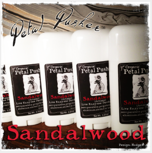 Organic Petal Pusher Fancies Live Enzyme Sandalwood Deodorant