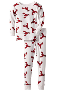 New Jammies Lobsters Organic Pajamas